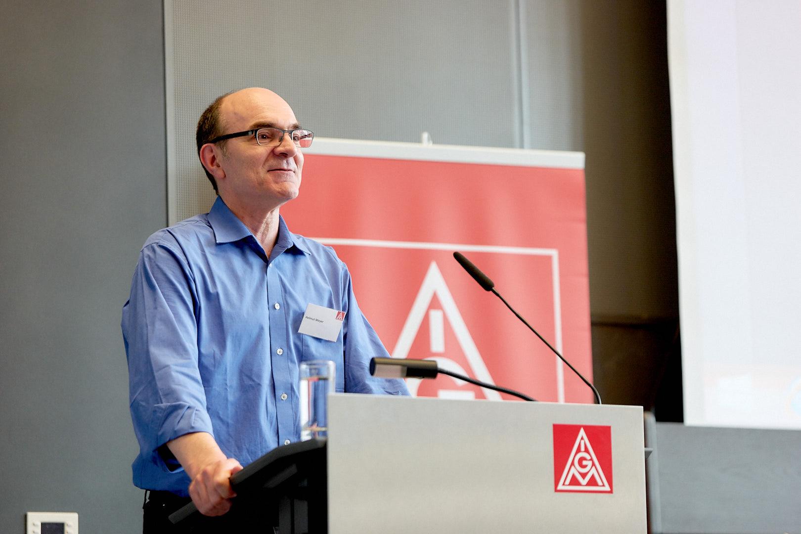 Helmut Meyer, Betriebsrat Robert Bosch GmbH Abstatt