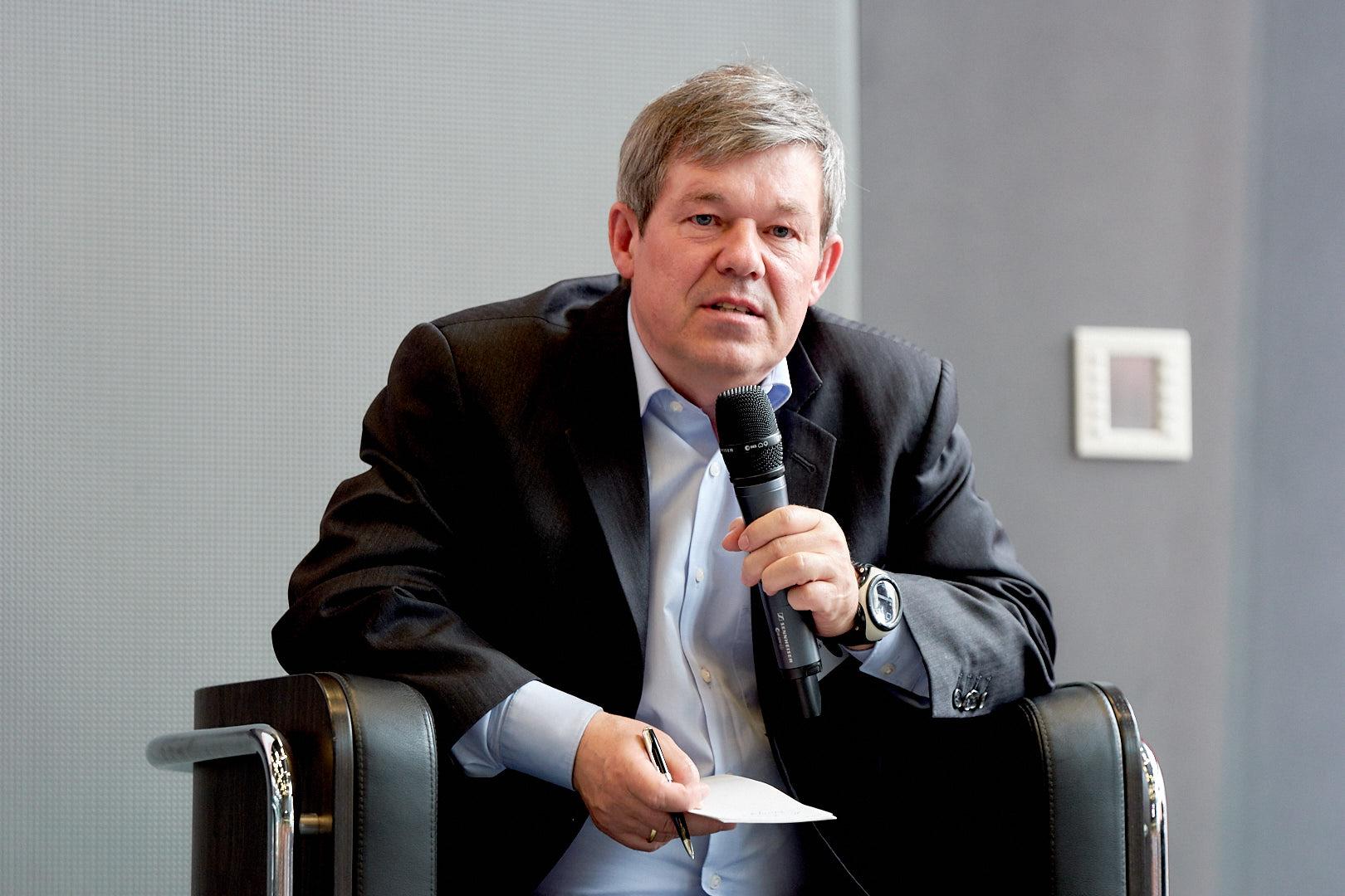 PD Dr. Andreas Boes, Wing-Projektkoordinator und Vorstandsmitglied des ISF München