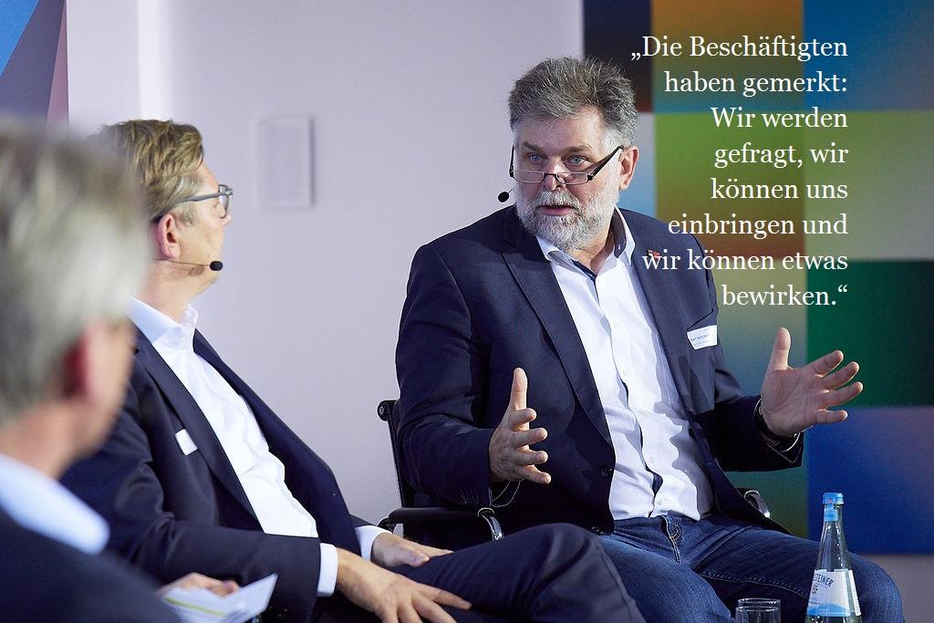 Karl-Heinz Brandl, ver.di, Bundesverwaltung, Bereichsleiter Innovation und Gute Arbeit