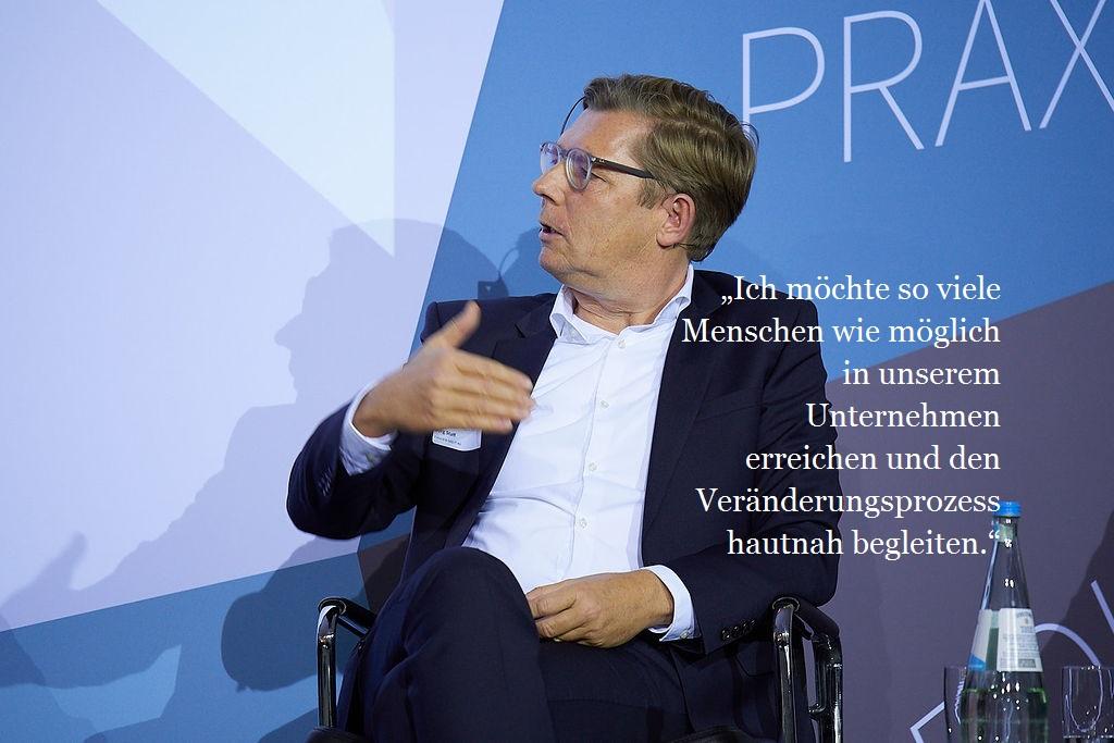 Jörg Staff, Fiducia & GAD IT AG, Mitglied des Vorstands und Arbeitsdirektor